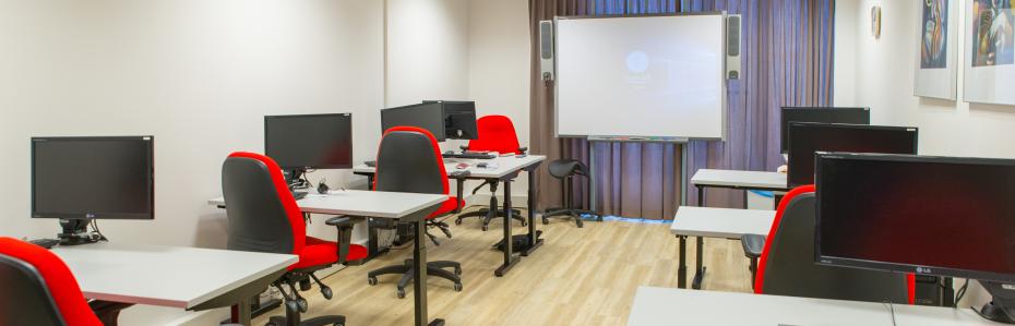 Een eigen leslokaal